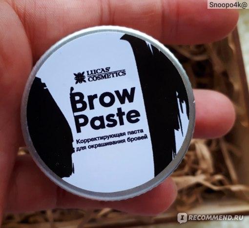 Паста для бровей Lucas Cosmetics Brow Paste by CC Brow фото