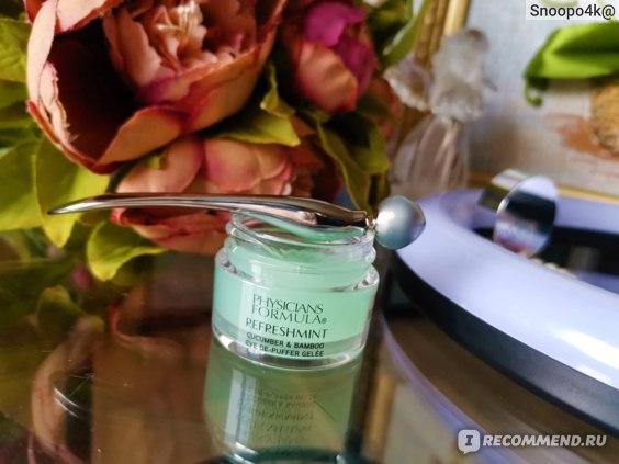 Гель для кожи вокруг глаз Physicians Formula Refreshmint Cucumber& Bamboo фото