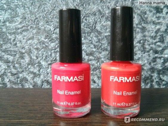 Лак для ногтей Farmasi  фото