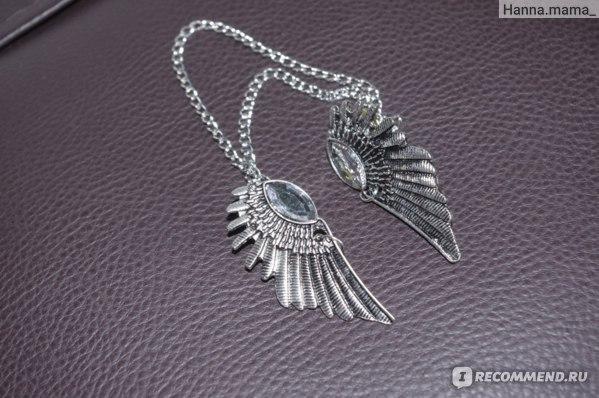 Цепочка Aliexpress На воротник рубашки   Hits 2014 hot selling vintage wing design alloy false collar necklace for women fashion jewelry NC-5253 фото