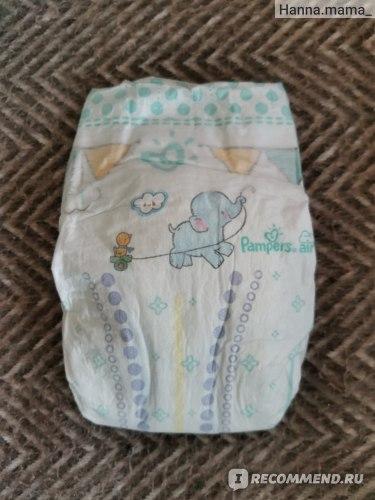 Подгузники Pampers New Baby-dry. Размер 1. Отзыв
