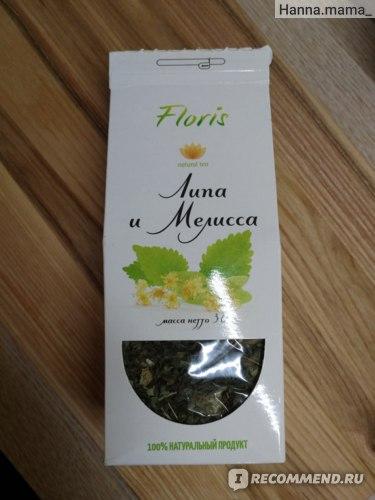 Травяной чай Floris Липа и мелисса
