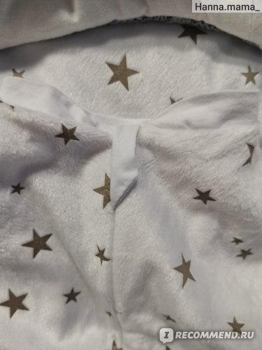 Вязаный конверт-одеяло на выписку Лялина Мода Зимний. Арт. 15602582 Отзыв