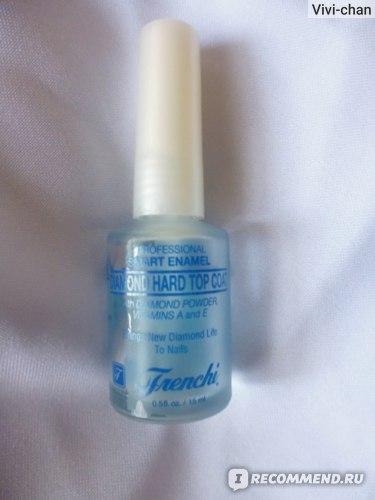 Верхнее покрытие лака для ногтей Умная Эмаль Бриллиантовое фото