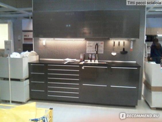 Икеа / IKEA Кухня МЕТОД  фото