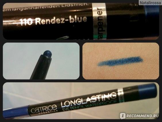 Карандаш для глаз Catrice Longlasting Eye Pencil Waterproof фото