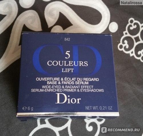 Тени для век Dior 5 Couleurs Lift фото