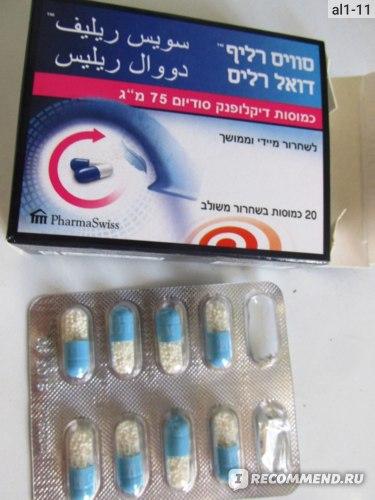 Лекарственный препарат Swiss Relief Таблетки DUAL RELEASE фото