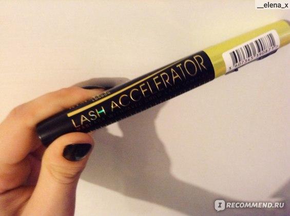 Тушь для ресниц Rimmel Lash Accelerator Mascara фото