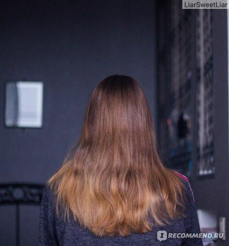 Осветление волос результат