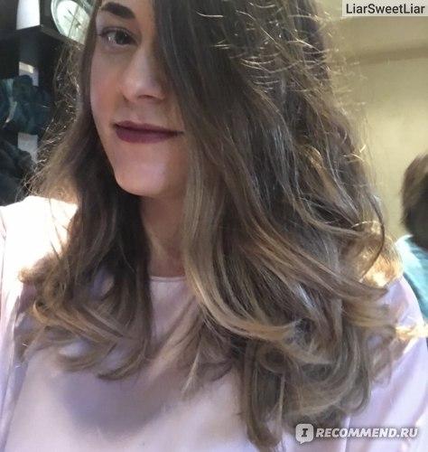 Аиртач на волнистых волосах
