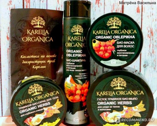 Био-шампунь Фратти НВ «Organic Oblepikha» глубокое восстановление и питание серии «Karelia Organica» фото