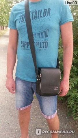 Мужская сумка Aliexpress Australia kangaroo man bag shoulder bag фото