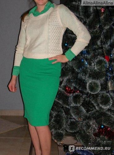 Свитер AliExpress 2014 Autumn Winter New Fashion Women Knitted Sweaters & Pullovers Ladies Long Sleeve Irregular Hem European Style Casual Jumper фото