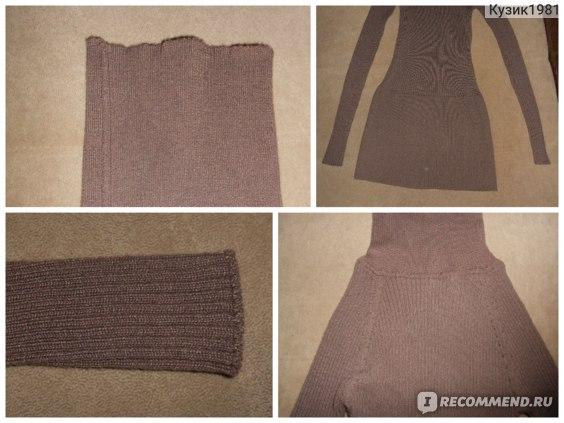 Водолазка AliExpress Модель № 8888 2013 free shipping all match short design slim long sleeve turtleneck basic women sweater basic shirt фото