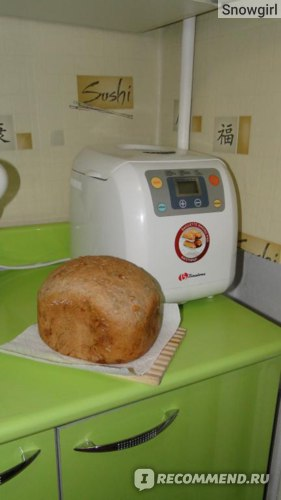 Хлебопечка Binatone BM-1065 фото