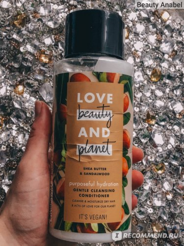 Кондиционер для волос Love Beauty and Planet Очищающий Счастье и Увлажнение фото