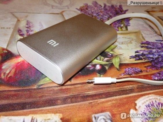 Power Bank Xiaomi 10400 mAh фото