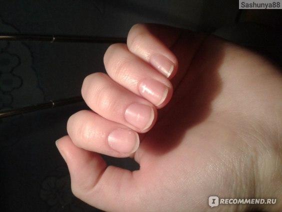 Ногти без ничего