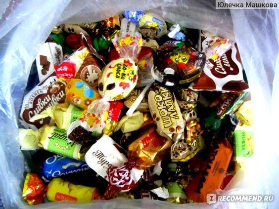 Конфеты ROSHEN KO-KO CHOCO Dark фото