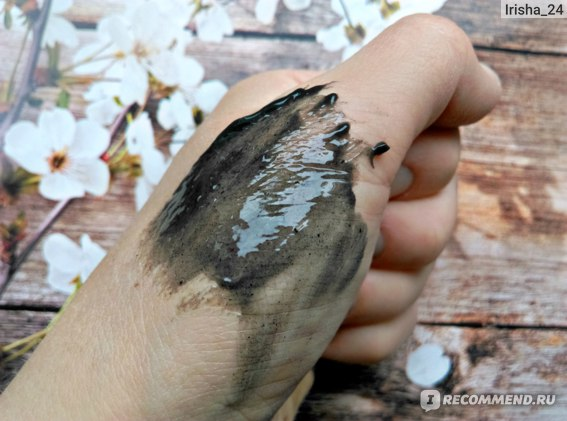 Текстура Зубная паста SPLAT Blackwood