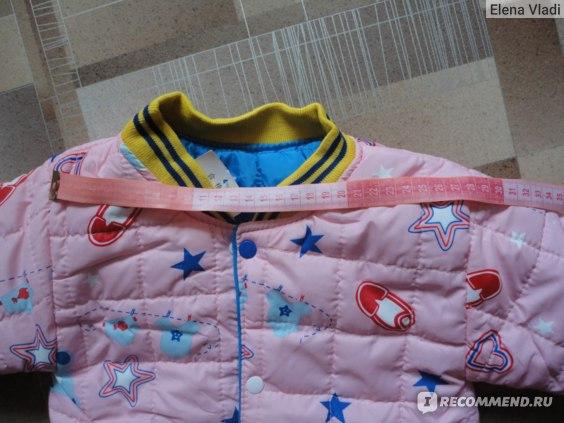 Куртка AliExpress Olike children outerwear cotton winter boys jackets long sleeve girl clothing kids coats children hoodies фото