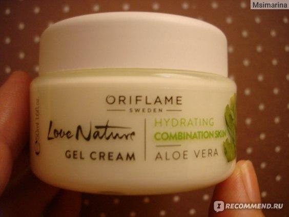 Крем-гель для лица Oriflame Love Nature «Алоэ вера» фото