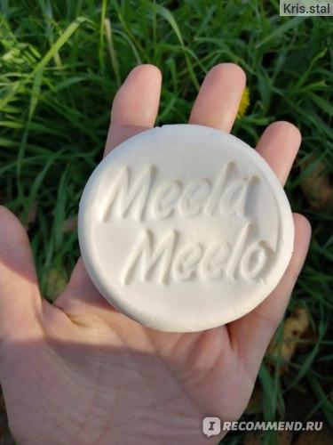 Твердый шампунь Meela Meelo Шикарный с маслами ши и брокколи, Гладкость и Блеск фото
