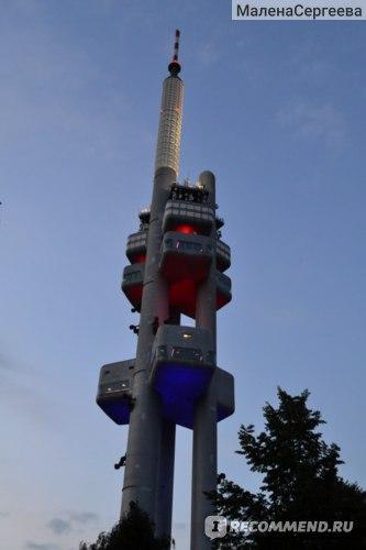 Чехия. Прага. Телевизионная башня.  фото
