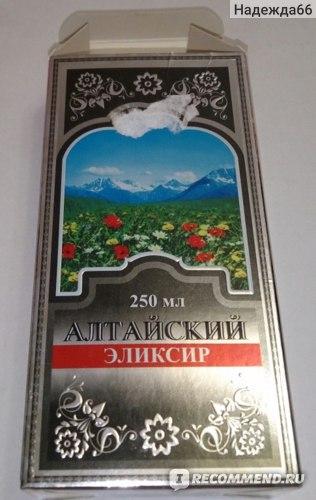 Эликсир  Алтайский фото