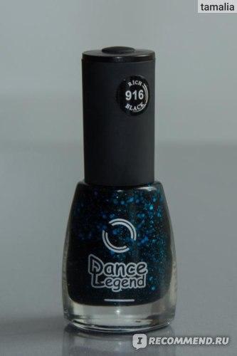 Лак для ногтей Dance legend Коллекция  Rich Black фото