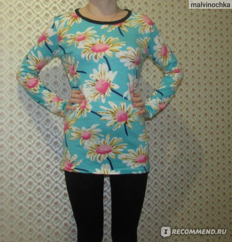 Кофта AliExpress 2014 Autumn and winter Fashion women Long sleeve t shirt Lovely printing Elastic fabric for women's t-shirt 37 model фото