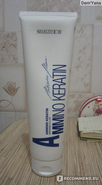 Маска для волос Selective Professional Ammino keratin фото