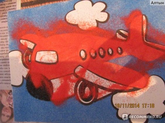 Набор для творчества Color puppy Цветной песок фото
