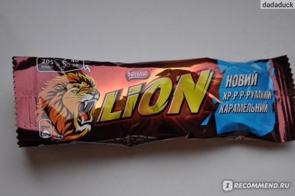 Шоколад Nestle Шоколадный батончик Lion фото