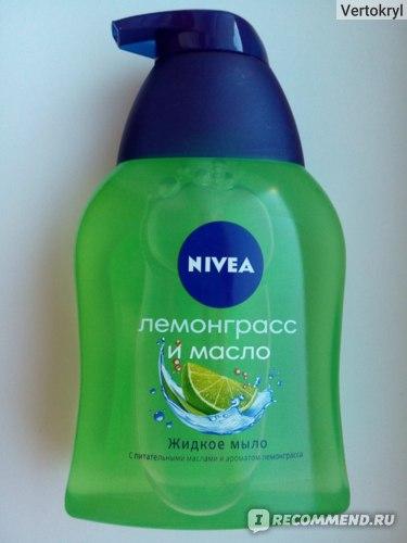 Жидкое мыло NIVEA Лемонграсс и масло фото