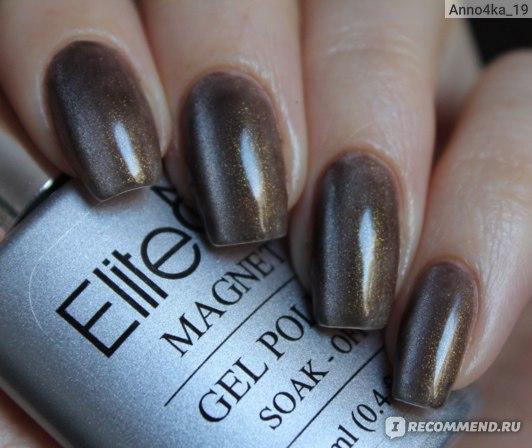 Гель-лак для ногтей Aliexpress Elite99 3D Nail UV Gel Polish UV LED Cat Eye Color Manicure Dark Cat Color 12ml фото