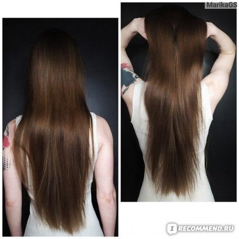 Волосы после другого шампуня и кондиционера