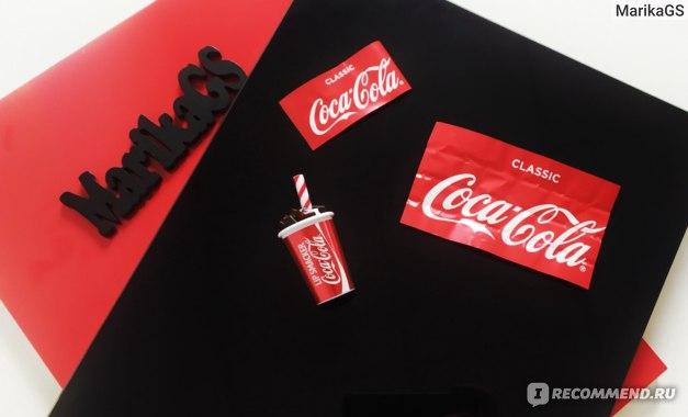 Бальзам для губ Lip smacker Coca-cola в стаканчике фото