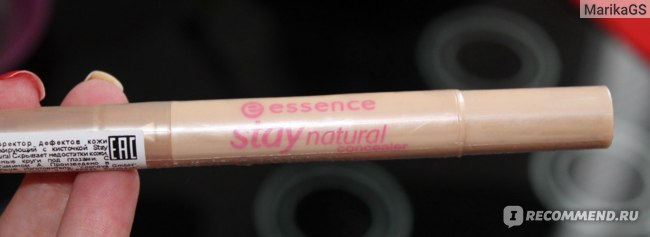 Консилер Essence stay natural concealer фото