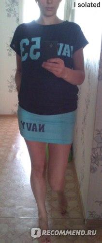 Спортивный костюм AliExpress 2014 New Fashion Women Sport suits Leisure Sweatshirts Summer Letter Printed Casual Tracksuit Crop Top And Skirt 2 Piece SU283A5 фото