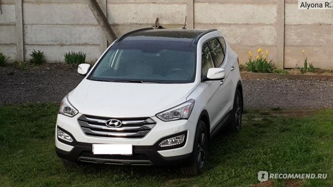 Hyundai SantaFe - 2014 фото
