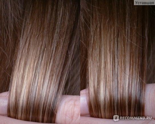 Волосы после использования.