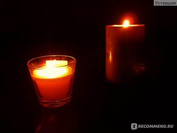 Ароматизированная свеча IKEA ТИНДРА ЮВ фото