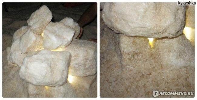 Соляная пещера Sahara Salt Cave в Шарм-эль-Шейхе, Египет фото