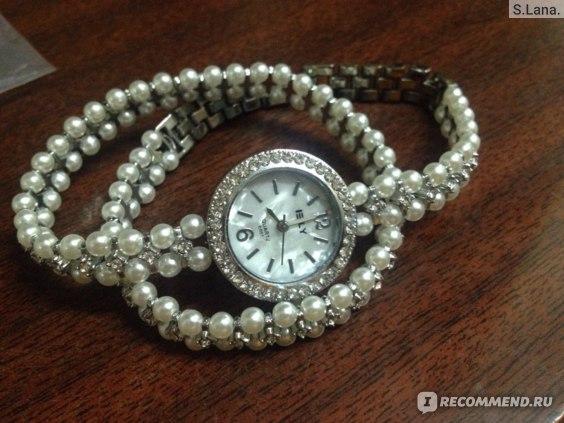 Часы женские наручные кварцевые Aliexpress Duoya Brand Quartz Watch Women Gold Pearl Jewelry Steel Bracelet Wristwatch Women Female Ladies Crystal Casual Fashion Watch фото