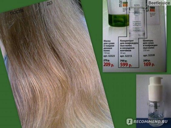 Концентрат для поврежденных волос и секущихся кончиков Inpharma Сomplex Pro Concentrate for damaged hair and tips фото