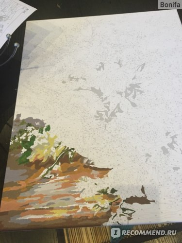 "Картина по номерам ТМ Белоснежка ""Белые розы"" фото"