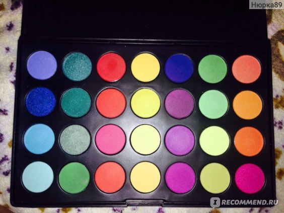 Палетка теней Buyincoins   Pro 28 Color Ultra Shimmer Eyeshadow Palette Eye Shadow фото