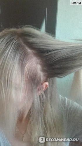 Вот так разделяем волосы